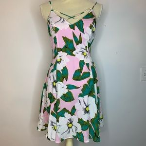Lucca Couture M floral dress